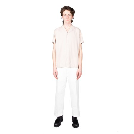 Schnayderman's Notch Tencel Short Sleeve Shirt - Sand