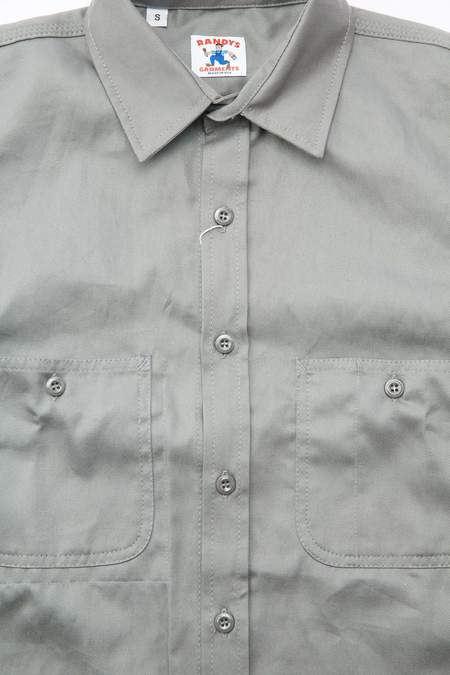 Randy's Garments 3-Pocket Work Shirt - Grey