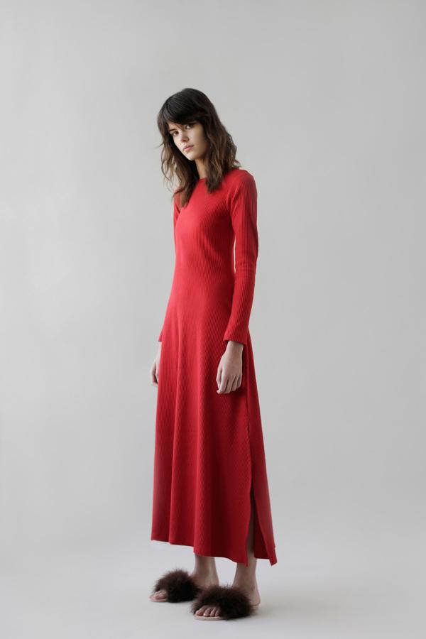 DELFINA BALDA Nova Rib Dress