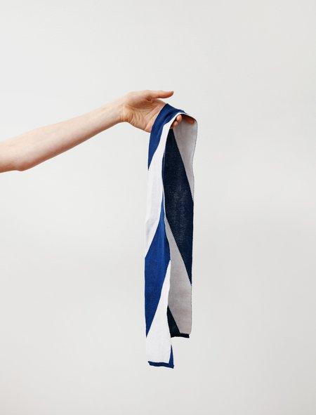 Stephan Schneider Storage Scarf - White / Blue