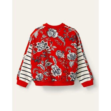 kids oilily handkerchief jacket - red