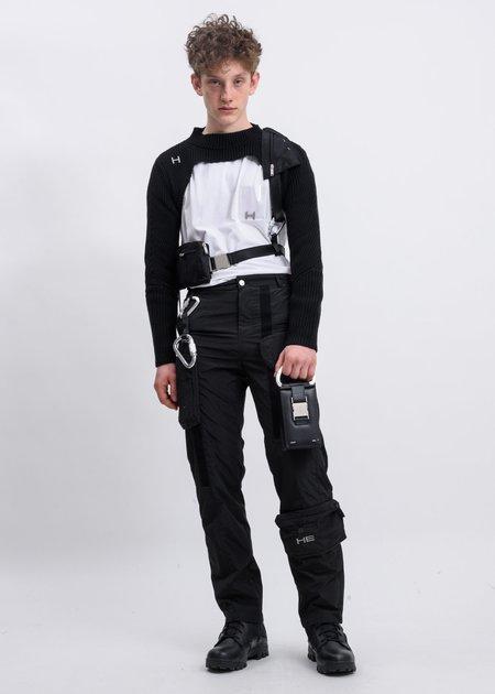 Heliot Emil PVC Pocket T-shirt - White
