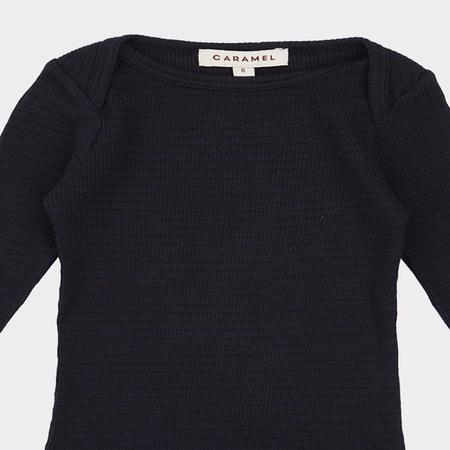 Kids Caramel Dulwich T-Shirt - Dark Navy