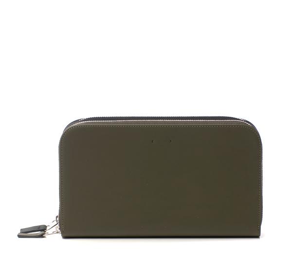 PB 0110 CM4 Black and Olive Wallet