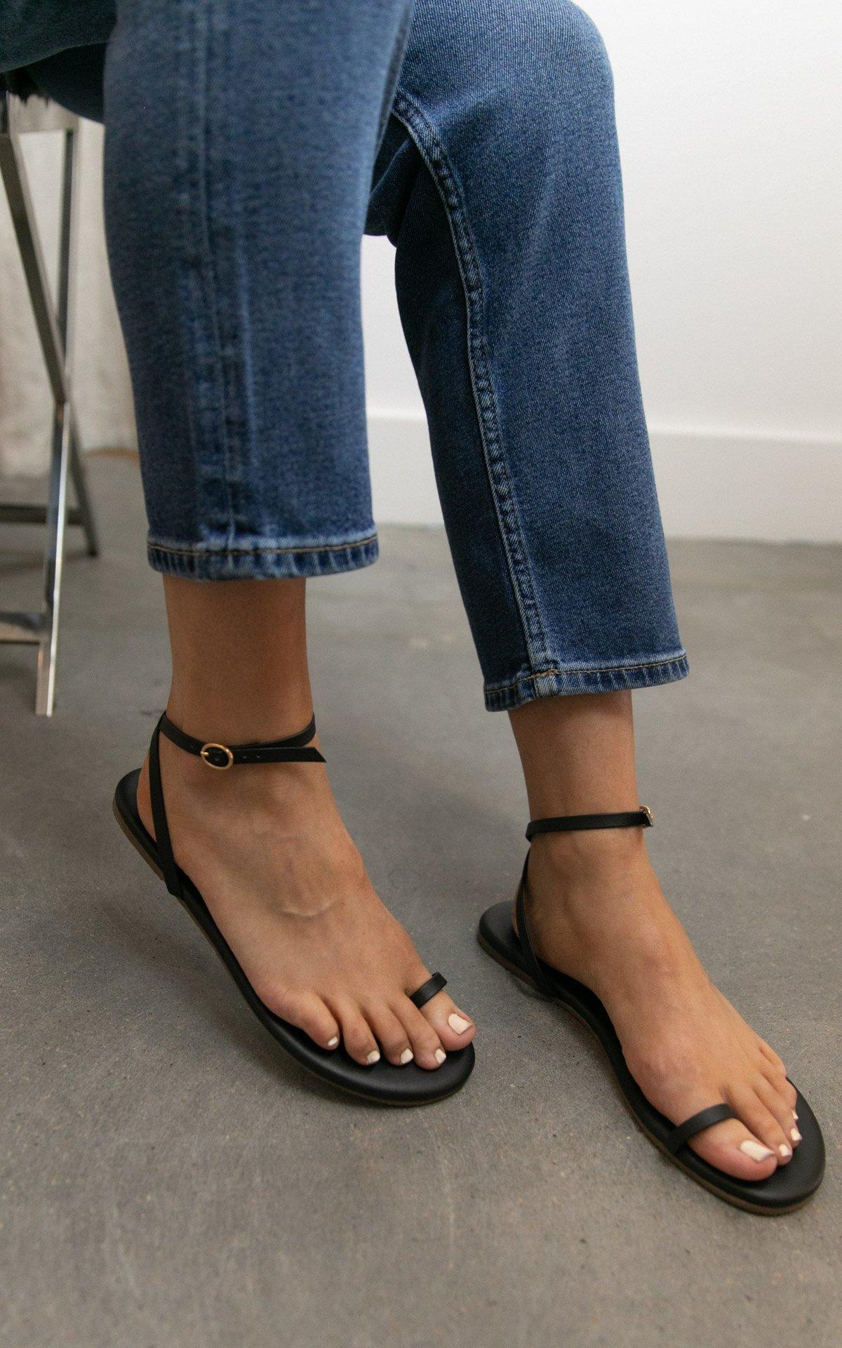 Tkees Phoebe Sandals Black Garmentory