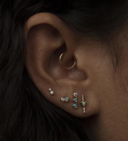 WWAKE Double Nugget Earrings