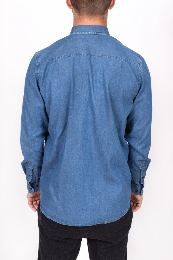Men's Wood Wood Denim Flint Shirt
