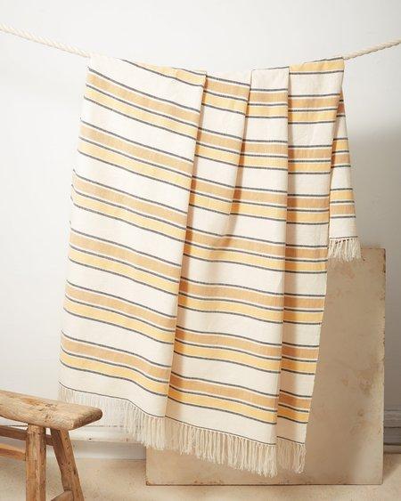 Minna Goods Gold Stripe Throw