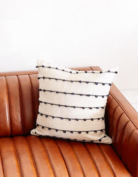 Territory Loops Pillow - Black