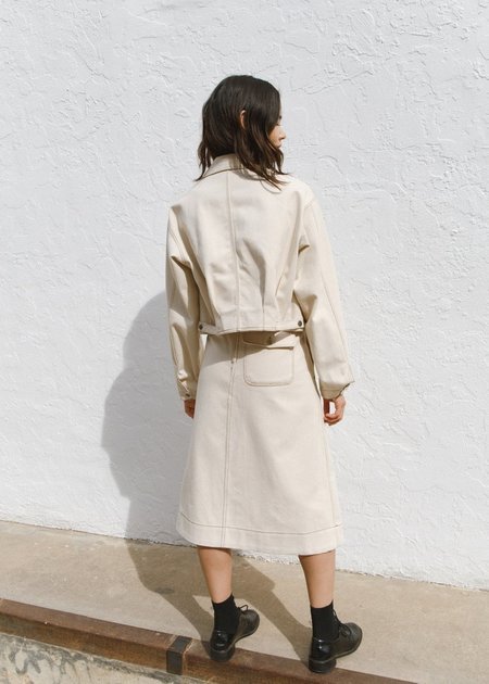 JOWA. Repeller Stitch Cotton Set up Skirt