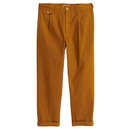 Alex Mill Pleated Chino - FADED SPRUCE