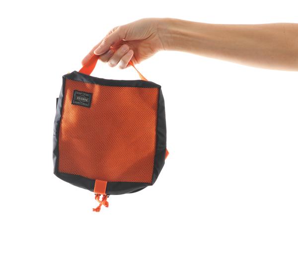 Porter Medium Orange Snackpack Pouch