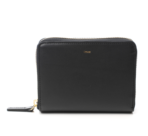 I Ro Se Black Pop Up Wallet