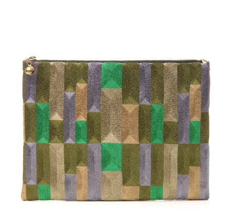 Anne Grand-clément Tetris Beattle Extra Medium Pouch