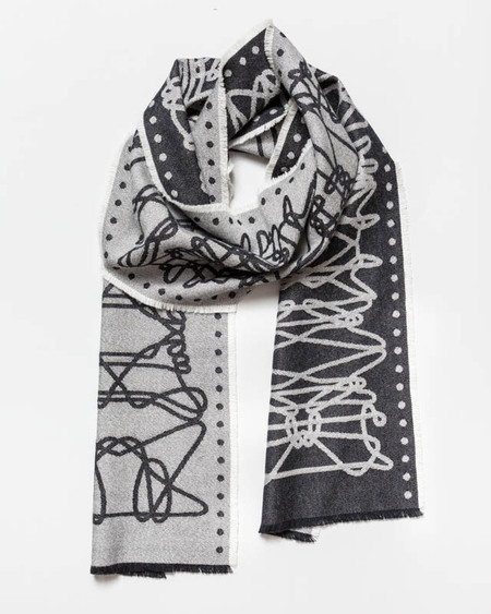 String Theory 'Cat's craddle' scarf