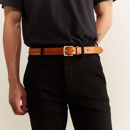 Hartford Arthur Leather Belt - NATURAL