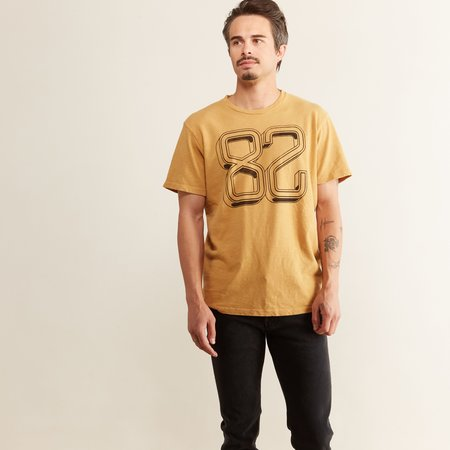 Mother Denim The Buster T-Shirt - Mustard Eighty Two