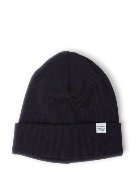 Norse Projects Norse Beanie Navy