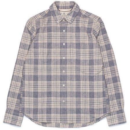 Rogue Territory Jumper Shirt - Linen Blend Plaid