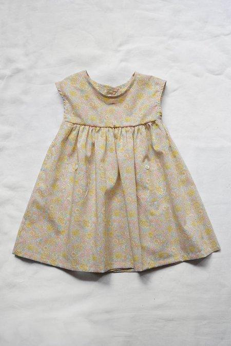 Makié Trish Baby & Kid's Dress - Yellow / Pink Flower