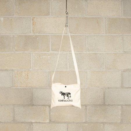 COW BOOKS Canvas Sacoche - White