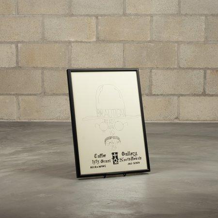 COW BOOKS Richard Brautigan Poster - White