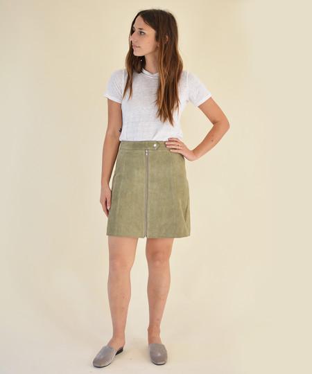 Just Female Fer Suede Skirt