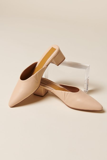 Jaggar The Label Core Leather Mule - Amberlight