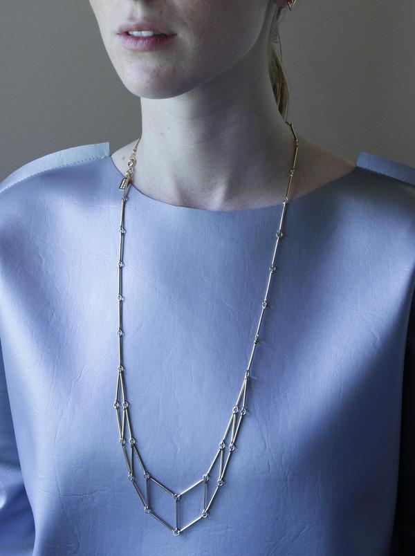 Alynne Lavigne 8-Square Necklace