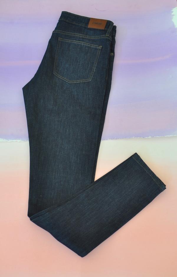 Courtshop High Waist Skinny jean in Indigo Rinse