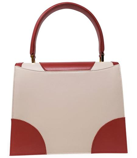 Amato Daniele Plain Leather Handbag - Rose