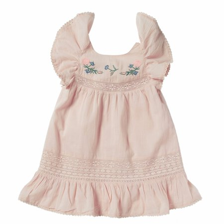 kids bonheur du jour coralie dress - pink