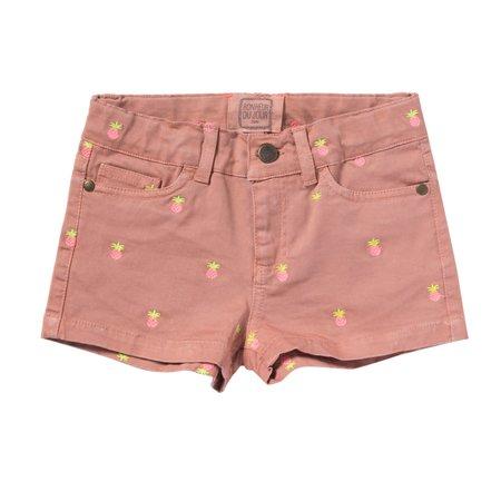 kids bonheur du jour melies shorts - pink