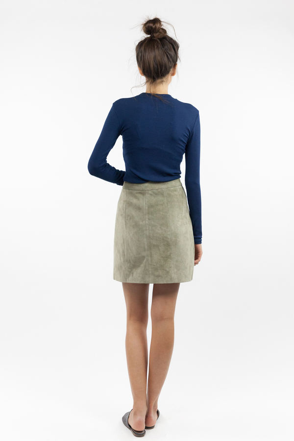 just female Alex Blouse - Dress Blue