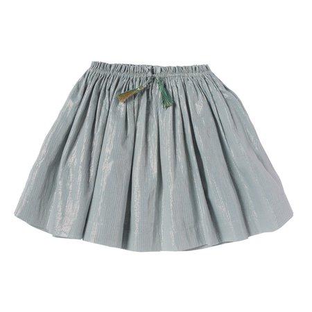 kids bonheur du jour melrose skirt - blue