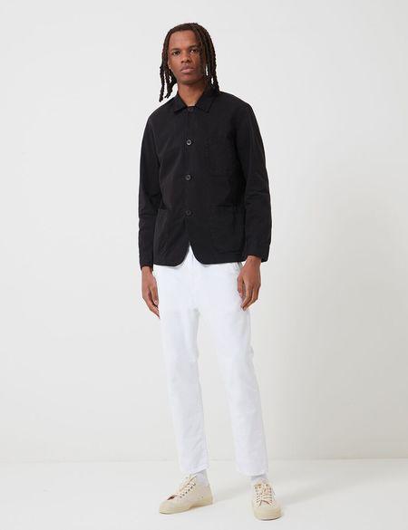 Portuguese Flannel Labura Workwear COTTON Jacket - Black