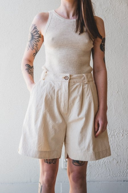 CAWLEY STUDIO ANA SHORT - CREAM