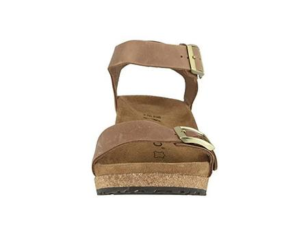 Birkenstock Soley Sandal by Papillio NARROW - Light Cognac Leather