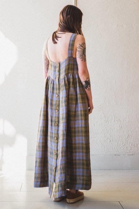 CAWLEY STUDIO ELBA LINEN DRESS