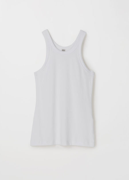 Totême RIBBED TIGHT FITTED TANK TOP