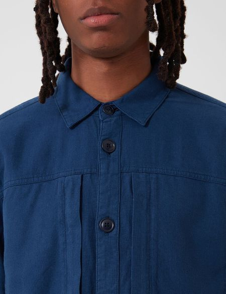 Barbour Kilda Overshirt - Indigo Blue