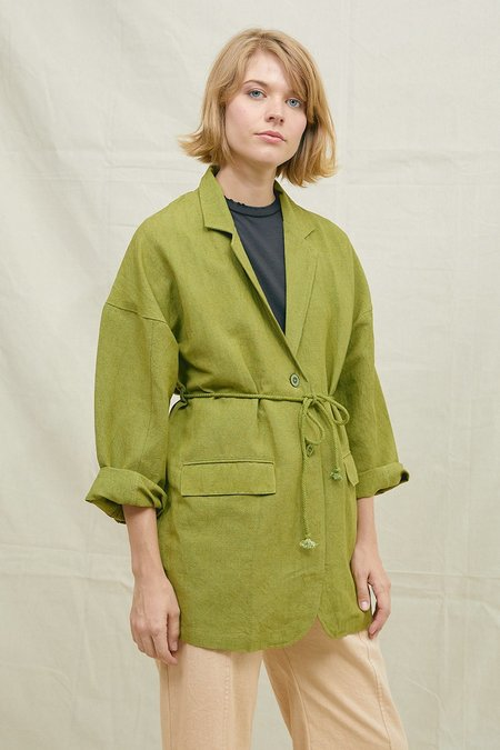 BACK BEAT RAGS The Dylan Robe - Pistachio