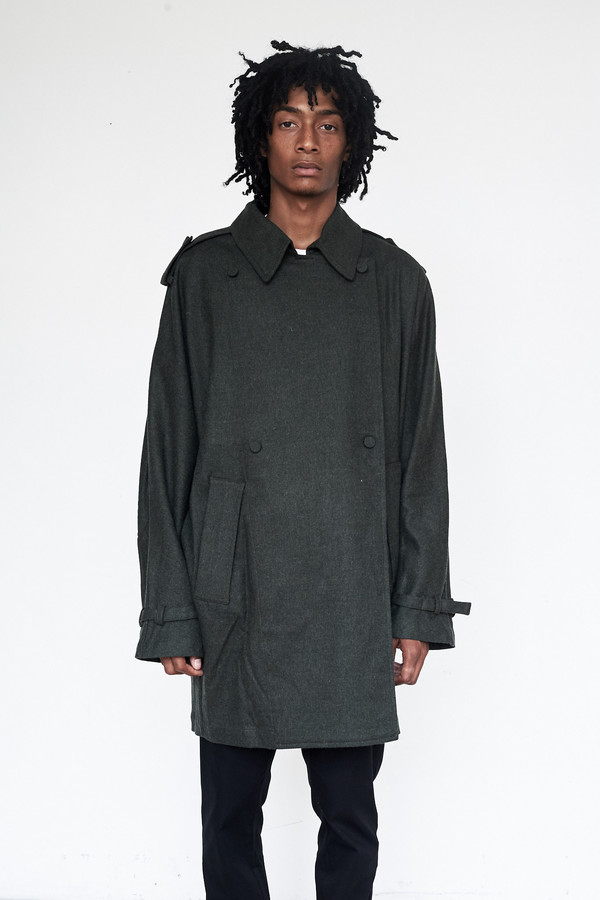 Unisex Assembly New York Poly Heather Oslo Baggy Trench
