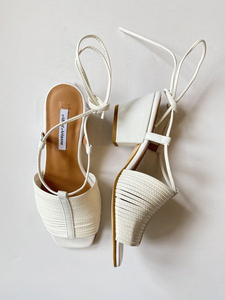 About Arianne Martin Sandal - white