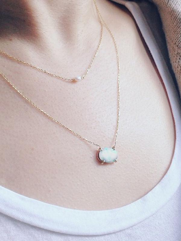 Vale Opal Necklace