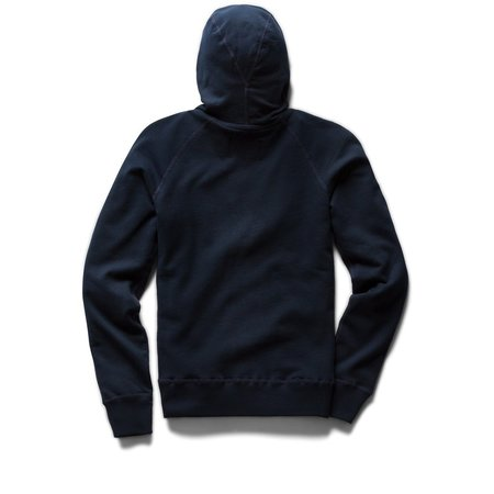 Reigning Champ Light Weight Terry Pullover Hoodie - Navy