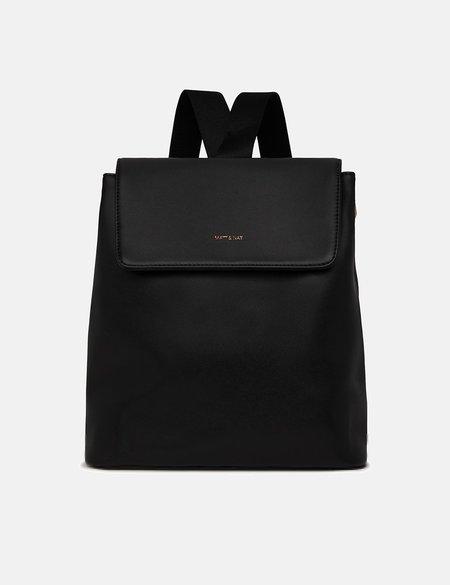 Matt & Nat Annex Backpack (Vegan Leather) - Black
