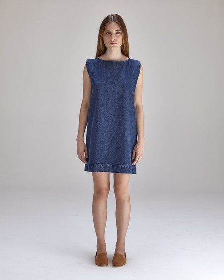 Ilana Kohn Kate Mini Dress in Denim