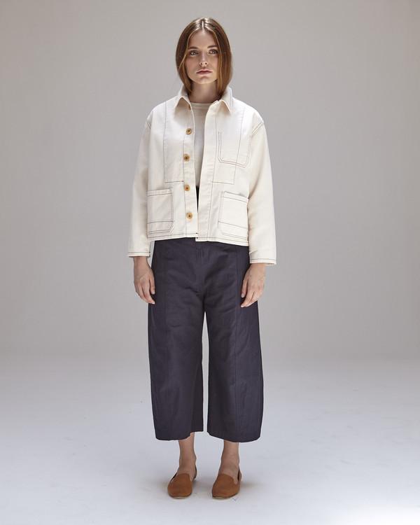 Caron Callahan Krasner Jacket in Ivory