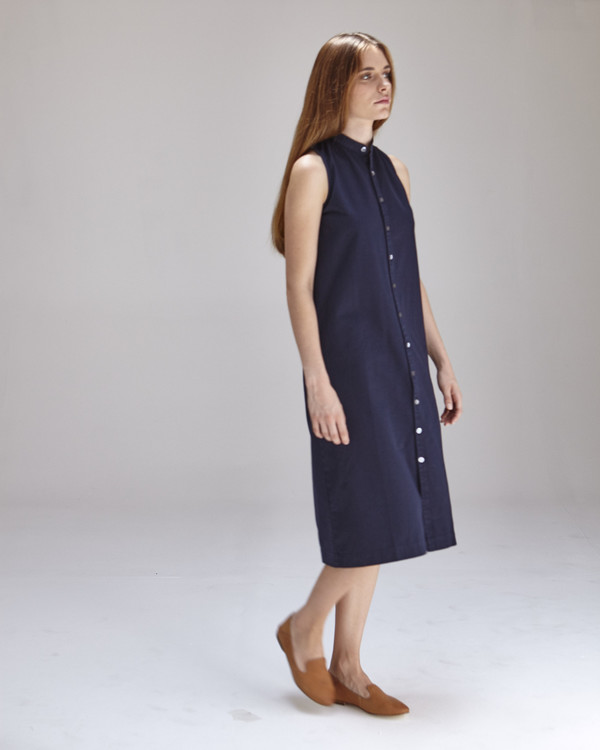 Ilana Kohn Lucy Dress in Navy